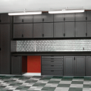 Garage Cabinets in Black