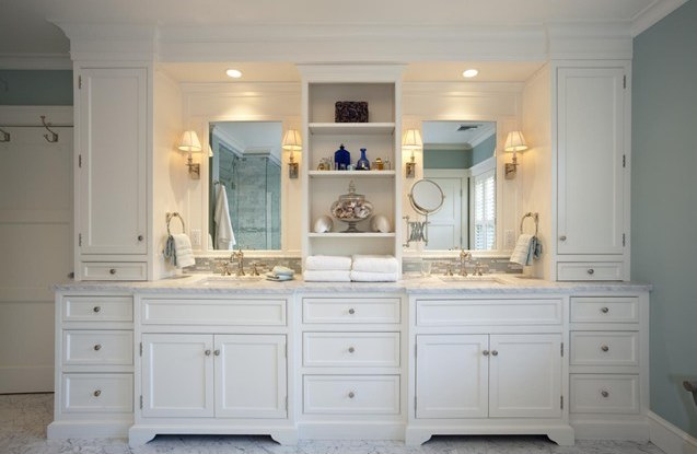 custom bathroom cabinets bathroom white classic custom cabinets houston 14305