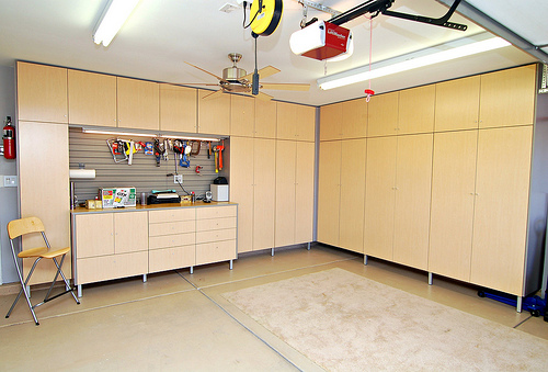 Custom Cabinets Houston Garage 1