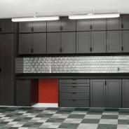 Garage Cabinets in Black