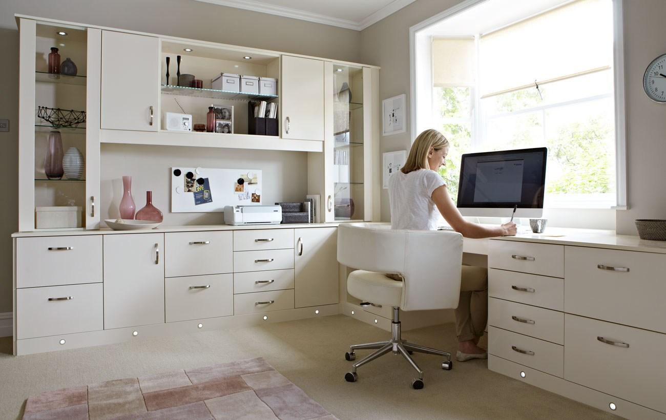 Home Office Base Cabinets On Customcabinetshoustonhomeofficedesksmodern Modern Desk With Cabinets Custom Houston Cabinet Masters