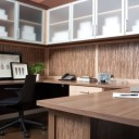 Contemporary Desk & Cabinets