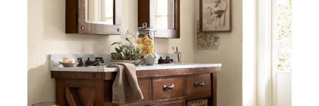 Villa Style Bathroom Hutch